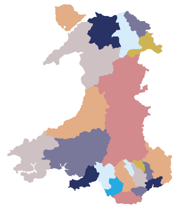 ELITE Supported Employment locations Wales