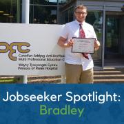 Jobseeker Spotlight: Bradley