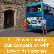 ELITE Win Charity Bus Competition