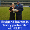 ELITE and Bridgend Ravens announce charity partnership
